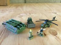 Micro Machines 1997-1998 #4 Battlefield Builders Complete Set w/Infantry Loose