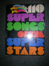 Piano Songbook: All New 110 Super Songs of the Super Stars... Vol. 2