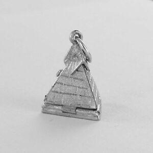 RARE Masonic Folding Pyramid - Solid Silver Hallmarked