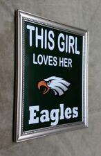 Philadelphia Eagles This Girl Loves Her Eagles Framed 8x10 Photo