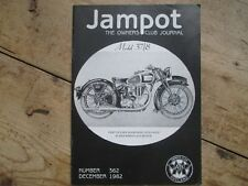 JAMPOT THE OWNERS CLUB JOURNAL DECEMBER 1982 NUMBER 362