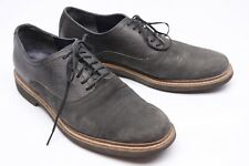 Cole Haan Mens Shoes 11 M Gray Leather Suede Two Tone Casual Derby C10776