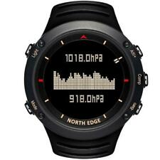 Mens Digital Watch Running Swimming Barometer Compass Thermometer Sport Watches