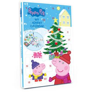 PEPPA PIG Christmas Advent Calendar with 24 Surprises (Damaged Box) CPEP086