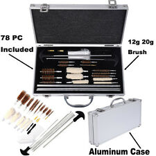 DELUXE GUN CLEANING KIT Air Rifle Pistol Shotgun 12g 20g ALI CASE Mop Rod Brush
