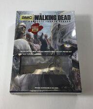 The Walking Dead Fourth Season Limited Edition w/Prison Key DVD Factory Sealed