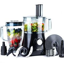 Netta Food Processor blender hachoir centrifugeuse Malaxeur 750 W Double Vitesse