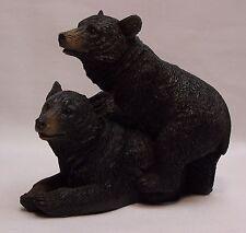 Black Bear Couple C Figurine Rustic Home/Cabin Decor (NAH)