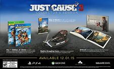 NEW Just Cause 3 -- Collector's Edition (Microsoft Xbox One, 2015)