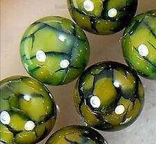 Rare 8mm Green Dragon Veins Agate Round Gemstone Loose Beads 15'