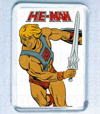 HE-MAN SMALL FRIDGE MAGNET - 80's CLASSIC!