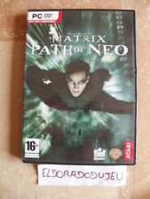 ELDORADODUJEU >>> THE MATRIX PATH OF NEO Pour PC Français CD COMME NEUF
