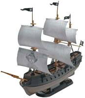 Revell Black Diamond Pirate Ship 1/350 snap model kit new 1971
