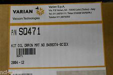 VARIAN VACUUM TECHNOLOGIES OIL DRAIN KIT SQ471