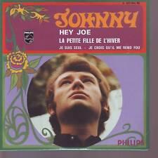 CD 4 titres JOHNNY HALLYDAY   hey joe  * la petite fille de l'hiver   (CD n°45)