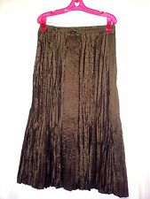 Gerry Weber designer ladies skirt size 8 brown dressy