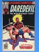 1980-1981 DAREDEVIL # 164 & # 168 Complete Reader Copies, Origin + 1st ELEKTRA!