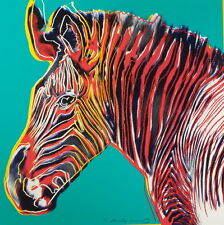 Andy Warhol Grevy's Zebra Giclee Canvas Print Paintings Poster Reproduction Copy
