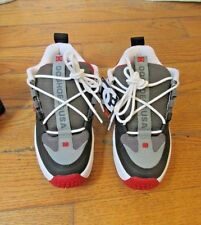 DC Lynx OG DEADSTOCK Size 7 (GREY/RED) New in the Box Sneakers