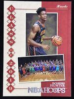 2019-2020 Panini NBA Hoops De'Andre Hunter Rookie Card Rc Atlanta Hawks 🔥📈