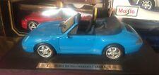 1:18 Maisto Porsche 911 Carrera Super Performance Sports Car 1/18 Light Blue