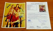 The Partridge Family Signed by 6 Photo 8x10 Full JSA Letter