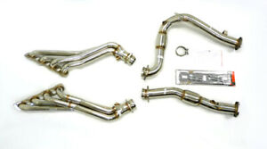 OBX Racing Catted Long Tube Header For 2006-2010 Jeep Grand Cherokee SRT8 6.1L