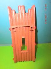 3023 Playmobil Fort Eagle 4072 reno 7936 3151 pieza de repuesto madera muro Western