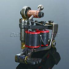 One Custom Top Professional Body Art Cast Iron Luo's Tattoo Machine Gun Supply