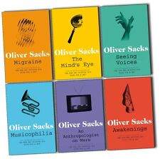 Oliver Sacks Collection 6 Books including - Migraine, Awakenings, Musicophilia