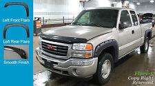 FENDER FLARES POCKET RIVET STYLE 99-06 Chevrolet 1500 2500 3500 PAINTABLE 4pc
