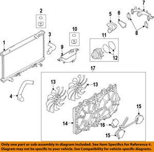 NISSAN OEM-Radiator Cooling Fan Blade 21486JK60A