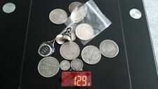 More details for scrap silver coins spoon and coin ring 129 grams