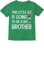 Tstars Big Brother Ugly Christmas Sweater Boys Sibling Toddler Kids T-Shirt