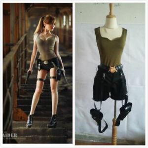 Hot!Tomb Raider Lara Croft Cosplay Costume