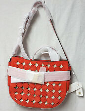 Tory Burch Bag 39040 Gemini Red Cutout Crossbody Agsbeagle
