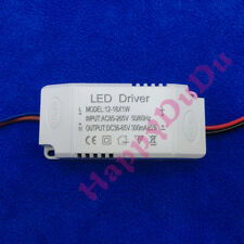 1pc AC LED Driver +Shell 12~18x1W 300mA Power Supply Lamp Light Bulb 12W 15W 18W