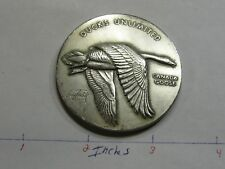 2.7 OZ CANADA GOOSE DUCK UNLIMITED MEDALLIC ART HIGH RELIEF RARE 999 SILVER COIN