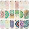Mandala Pattern Soft Clear TPU Back Case Cover Skin For Apple iPhone 6 6S 7 Plus
