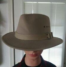 Panama Jack Men's Canvas Safari UPF 50+ Sun Protection Hat Cap siz L