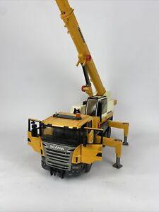 Bruder 3570 Scania R-Series Liebherr Crane Truck Lorry Construction Toy 1:16