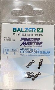 Balzer Feeder Master by Michael Zammataro Adapter für Feeder Doppelsnap Futterk.