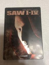 Saw 1-4 Russian DVD in German Steelbook  RARE
