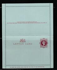 entier postal  carte lettre Royaume Uni   one Penny   neuve