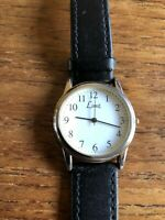 Ladies/Gents LIMIT Classic SS Watch with Black Leather Straps in wear  W771/1