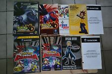 Nintendo Gamecube Games Pokemon Colosseum and Pokemon XD Gale of Darkness