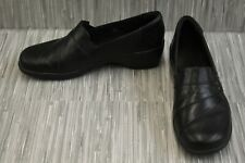 **Clarks Clog Slip-On Shoes, Women's Size 9M, Black
