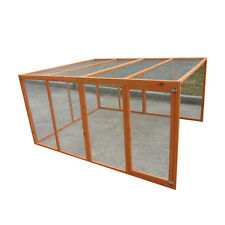 Large 200*160*99cm Extension Run for Chicken Coop Hen house Chook Hutch Cage
