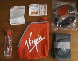 1990s VIRGIN ATLANTIC FLIGHT/AMENITY KIT BAG COLLECTIBLE