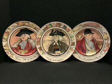 Royal Doulton Profession Series 6000 Collector Plates (Mayor, Parson, Hunting)